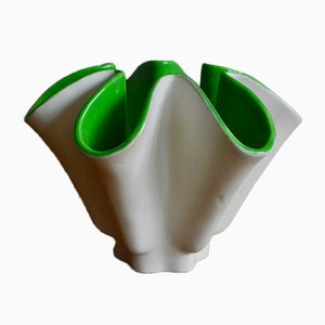 Vintage Free Form Vase by Blanche Letalle for Saint Clément