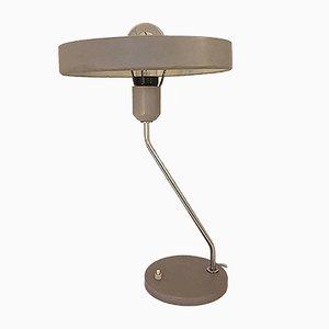 Lámpara de escritorio de Louis Kalff, años 60