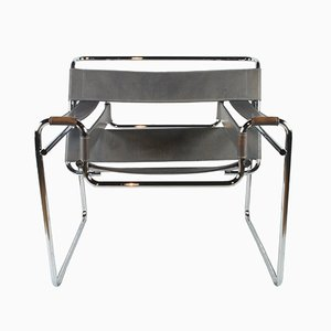 Vintage Wassily Armchair by Marcel Breuer