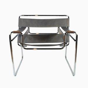 Vintage Wassily Armlehnstuhl von Marcel Breuer