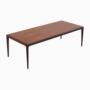 Large Vintage Coffee Table by Johannes Andersen for Cfc Silkeborg