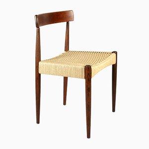 Skandinavischer Mid-Century Stuhl von Arne Hovmand Olsen für Mogens Kold