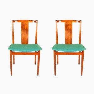 Stühle von Henning Sørensen für Danex, 1960er, 2er Set