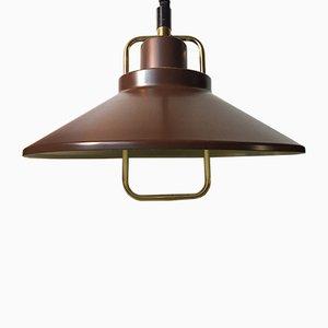 Lampe à Suspension par Johannes Hammerborg pour Fog & Mørup, Danemark, 1970s