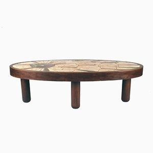 Tavolino da caffè vintage di Barrois