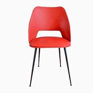 Sedia rossa e nera, anni '50