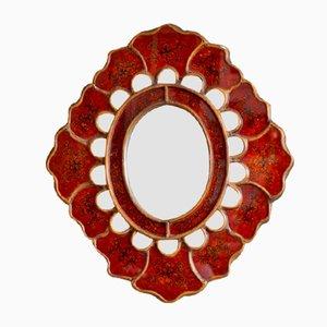 Specchio vintage bohémien