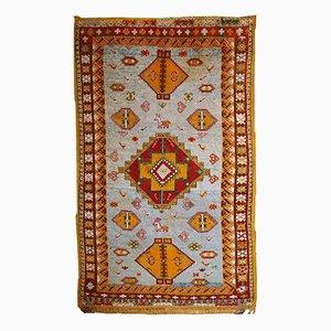 Antique Handmade Moroccan Berber Rug, 1910s