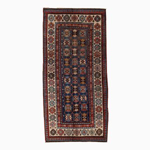 Antique Handmade Caucasian Talish Rug, 1880s