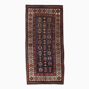 Antique Handmade Caucasian Talish Rug, 1880s