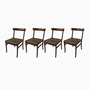 Rungstedlund Chairs by Ole Wanscher for Poul Jeppesens Møbelfabrik, 1960s, Set of 4
