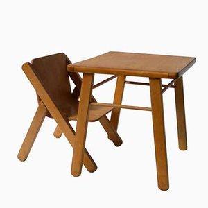Chaise pour Enfant et Bureau, 1970s