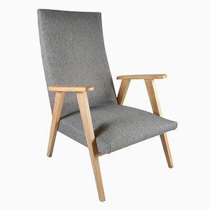 Mid-Century Sessel mit Kompassfüßen