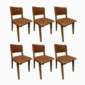 Vintage Chairs by Jens Risom, Set of 6