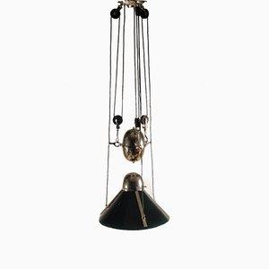 Lámpara colgante vienesa, década de 1900