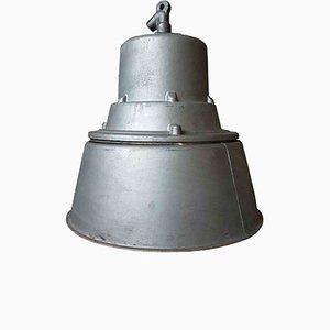 Lámpara colgante industrial polaca grande de Mesko, 1968