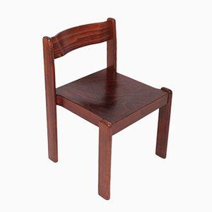 Brown Italian Dining Room Chair, 1970s