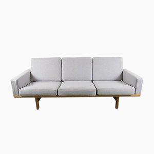 Vintage GE236 Sofa aus Eiche von Hans Wegner für Getama