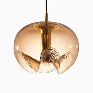 Large Wave Pendant by Koch & Lowy for Peill & Putzler, 1970s