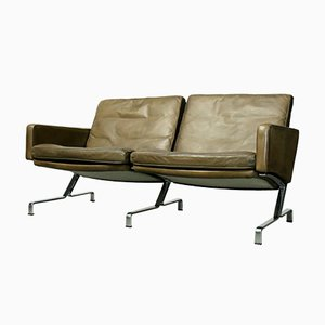 Sofá de dos plazas JK 730 vintage de Jørgen Kastholm para Kill International