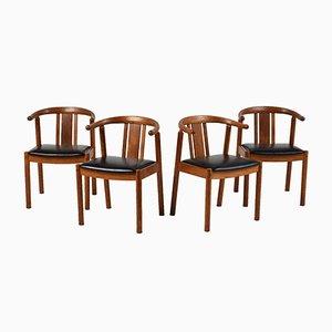 Chaises de Salon Mid-Century, Danemark, 1940s, Set de 4