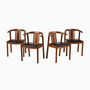 Mid-Century Danish Dining Chairs, 1940s, Set of 4
