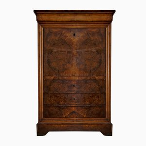 Louis Philippe Secretaire in Walnut