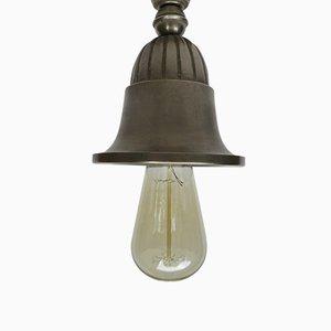 Lámparas de techo antiguas Art Nouveau. Juego de 10