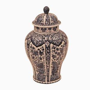 Vasetto vintage dipinta a mano di Delfts