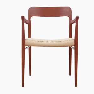 Mid-Century Scandinavian 56 Armchair in Teak by N. O. Møller for J.L. Møllers, 1960s