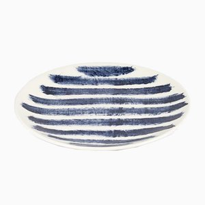 Indigo Rain Salad Plate by Faye Toogood