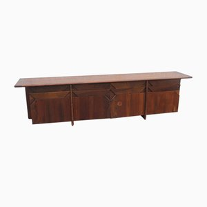 Mid-Century Walnut Sideboard by Ammanati & Vitelli for Catalano, 1960s