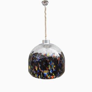 Lámpara colgante Mid-Century multicolor de Vistosi, años 60