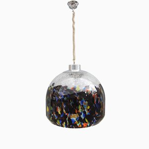 Suspension Multicolore Mid-Century de Vistosi, 1960s