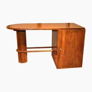 Vintage French Walnut Desk