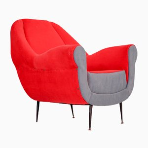 Vintage Lounge Chair by Gigi Radice for Minotti, 1950s
