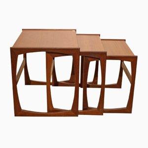 Mesas nido de G-Plan, años 60