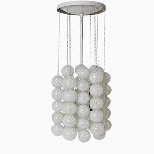 Lámpara colgante burbuja de Josef Hurka para Napako, años 70