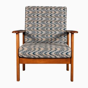 Mid-Century Modern Teak Lounge Chair, 1970s