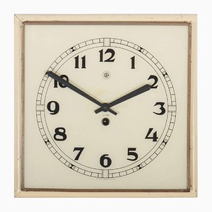 Art Deco Wall Clock, 1936