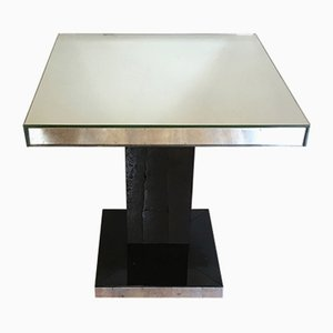 Mid-Century Coffee Table with Mirror