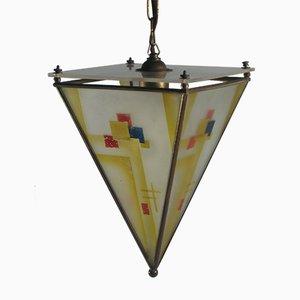 Lámpara colgante Pyramid, años 20