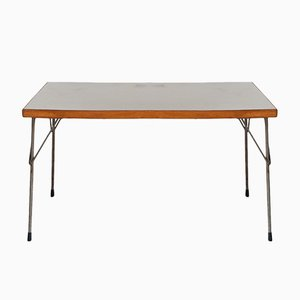 Vintage Industrial 3705 Dinning Table by Wim Rietveld for Gispen