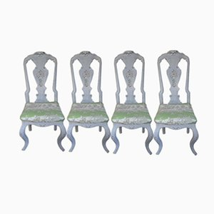 19th Century Swedish Chairs, Set of 4