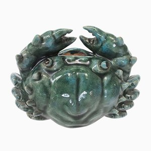 Vintage Crab Flower Vase