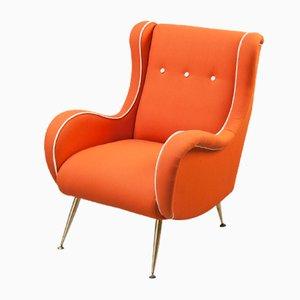 Italienische Sessel von Aldo Morbelli, 1950er, 2er Set