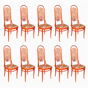 Bentwood No. 17 Chairs from Thonet, 1980s, Set of 10