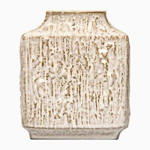 Rechteckige Vintage Relief Vase von Friedegard Glatzle für Karlsruhe