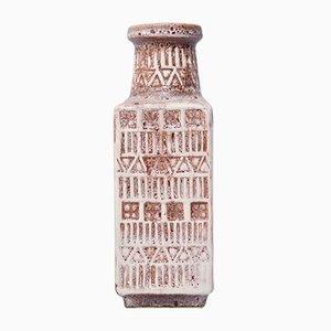 Vase Vintage Moulé avec Motif Rune par Bodo Mans pour Bay Keramik