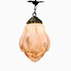 Lámpara colgante Art Decó de , años 30